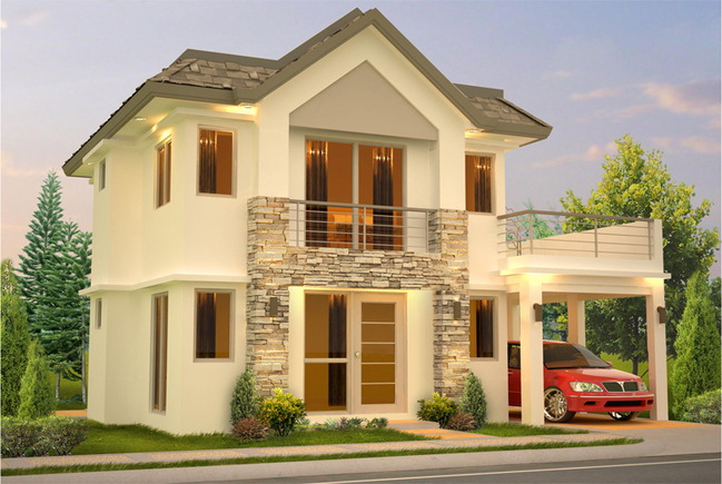 The terraces victoria model house and lot for sale in for Modern house designs victoria